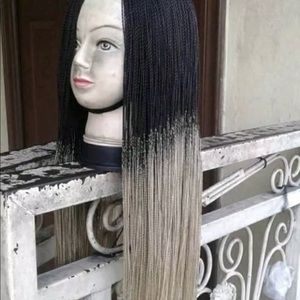 Black and grey Africa twisting wigs